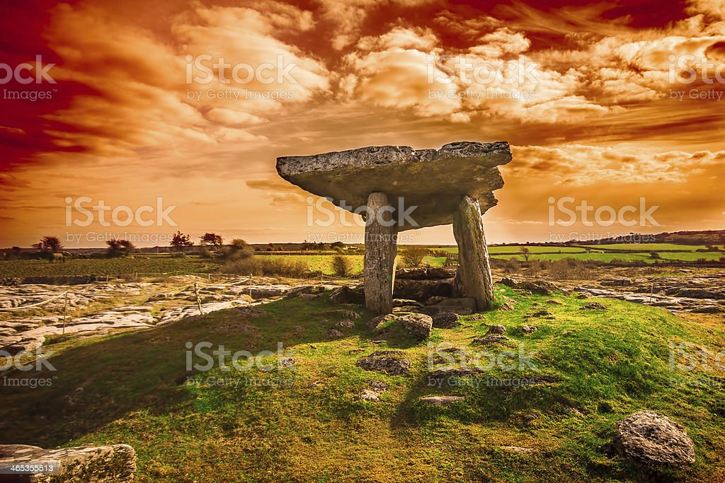 Ancient Burial stock photo