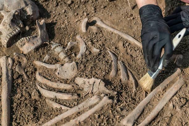 Antike Grabstätte - Archäologische Ausgrabungen – Foto