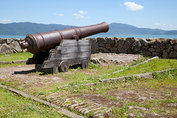 Ancient Cannon stock photo