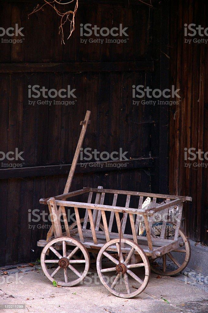 Alte Einkaufswagen – Foto
