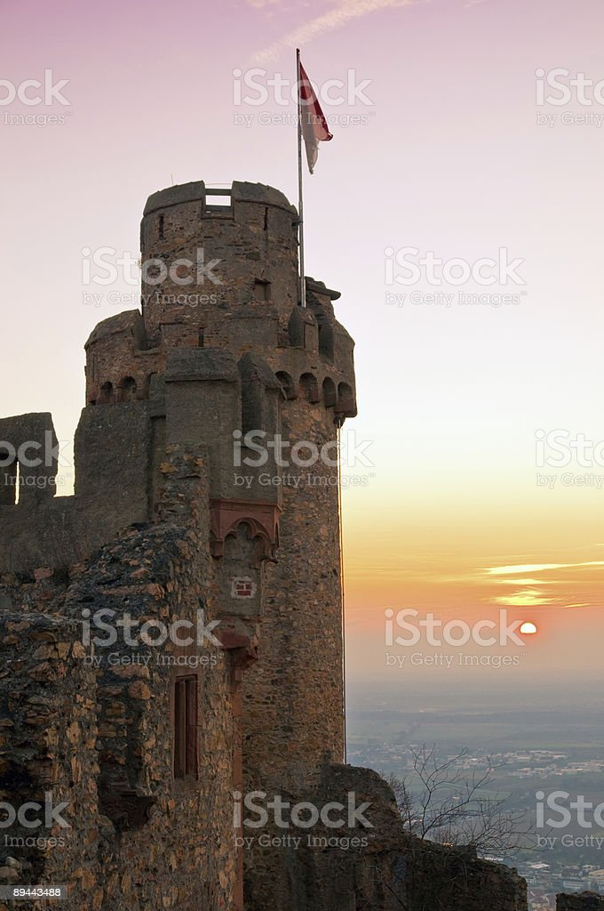 ancient castle royalty-free stock photo