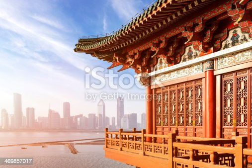 istock ancient Chinese architecture 469857017