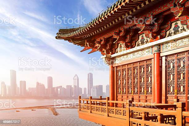 Ancient Chinese Architecture Stock Photo - Download Image Now