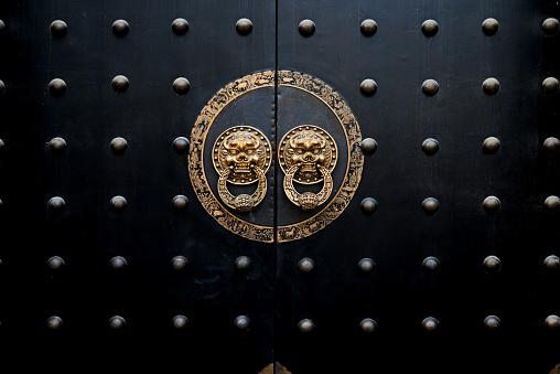 Ancient Chinese door