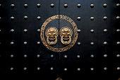istock Ancient Chinese door 509616224