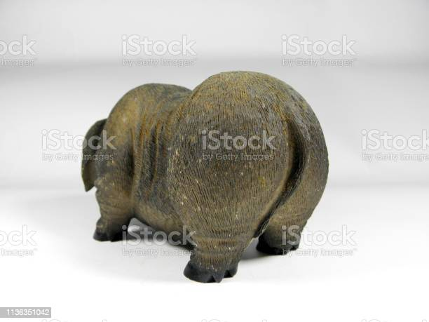 Ancient Chinese pottery traditional pig shape