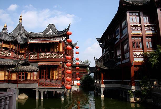 Alte chinesische Yu-Yuan-Garten – Foto
