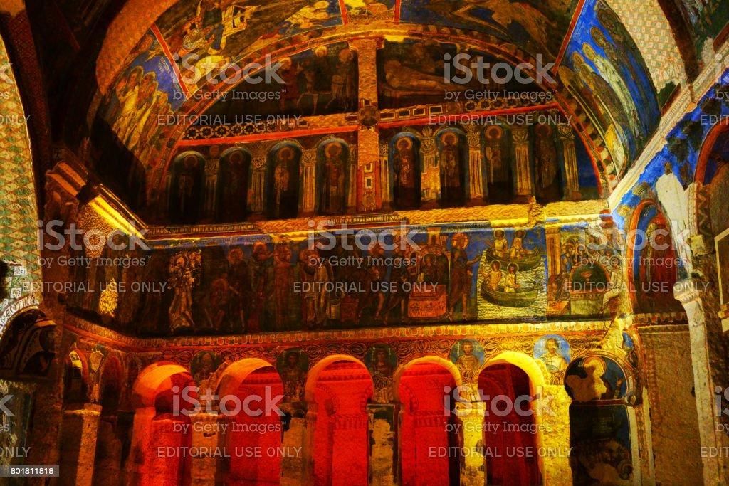 Ancient church. Cappadocia, Turke stock photo
