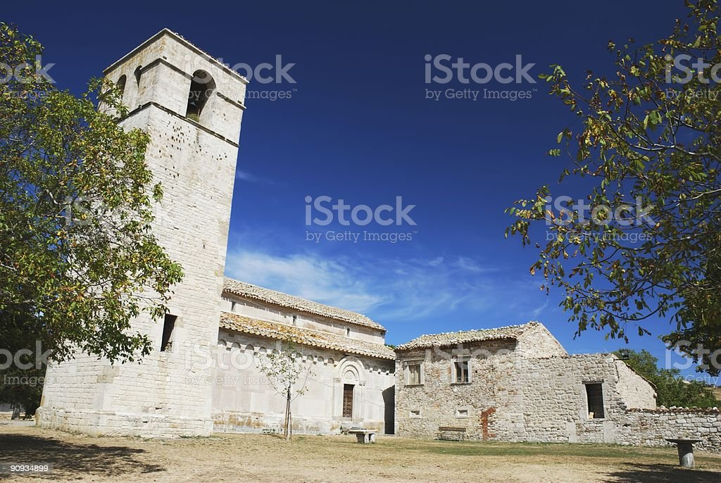 Ancient church royalty-free stock photo