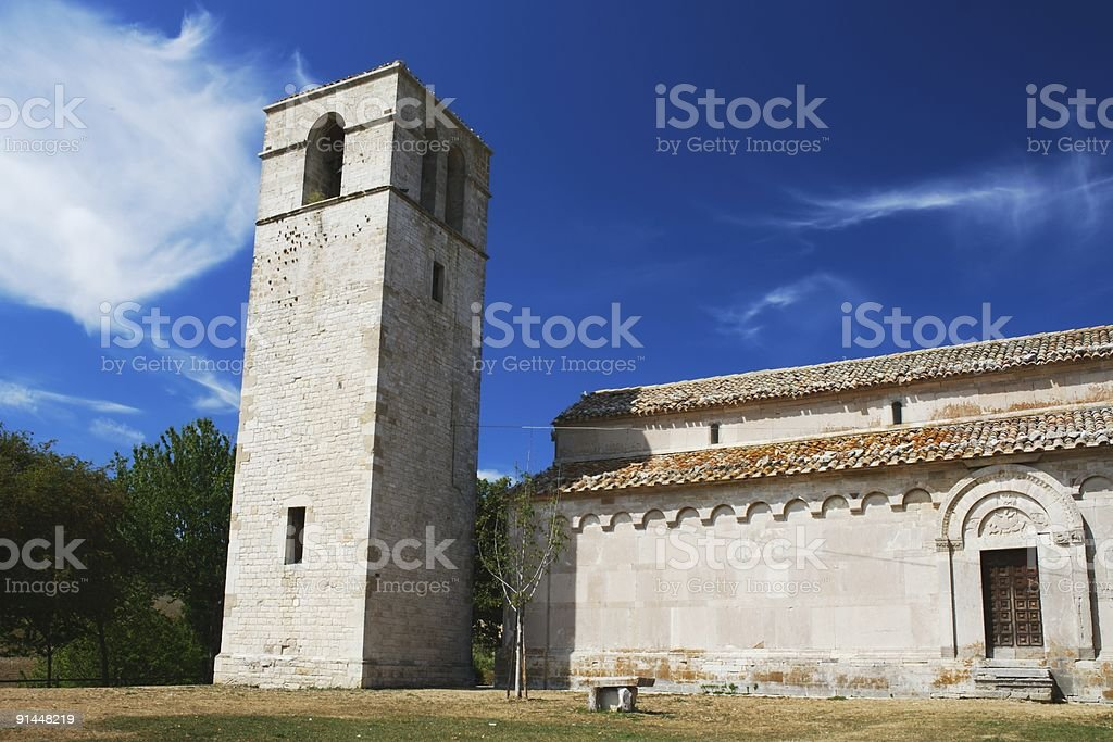Ancient church royalty-free stock photo
