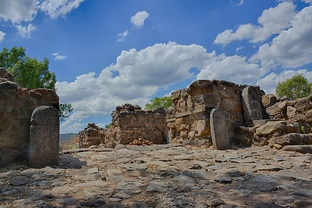 Ancient city gate stock photo