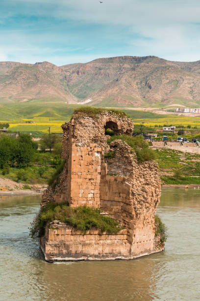 Ancient City Hasankeyf - stock photo