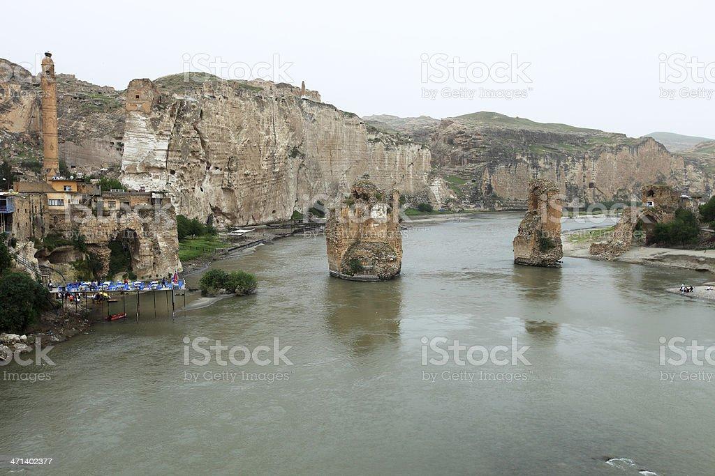 Ancient City Hasankeyf royalty-free stock photo