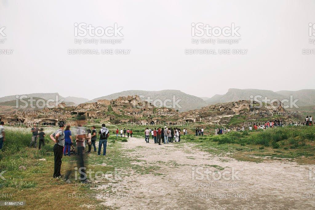 Ancient City Hasankeyf stock photo
