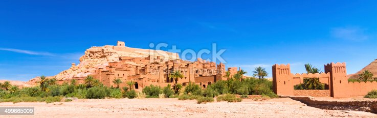 872393896 istock photo Ancient city of Ait Benhaddou in Morocco 499665009