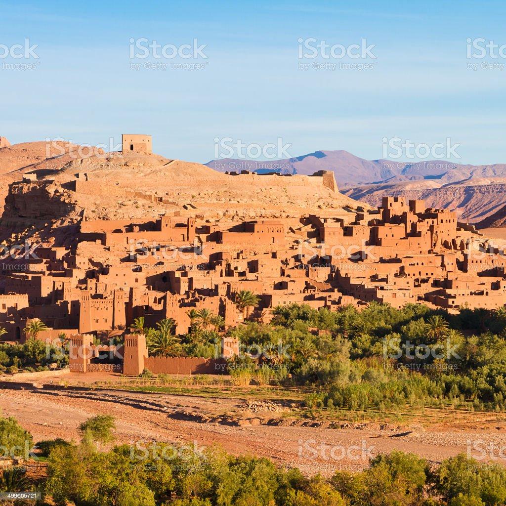 Alte Stadt von Ait Benhaddou in Marokko Lizenzfreies stock-foto