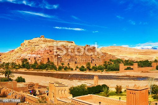 872393896 istock photo Ancient city of Ait Benhaddou in Morocco 499778499