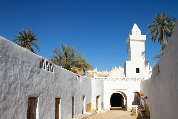 Ancient city of Ghadames stock photo