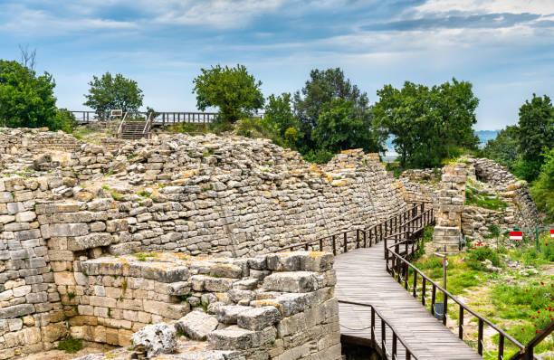 Antike Stadt Troja in der Türkei – Foto