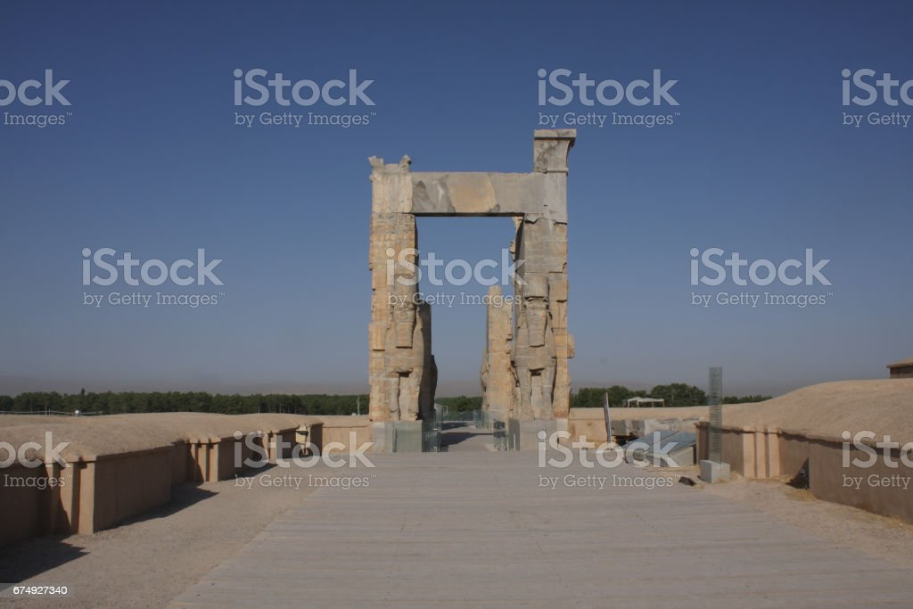 ancient city royalty-free stock photo