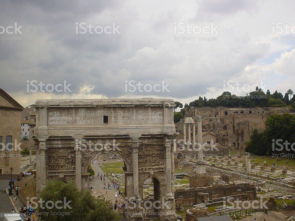 Ancient city royalty-free stock photo