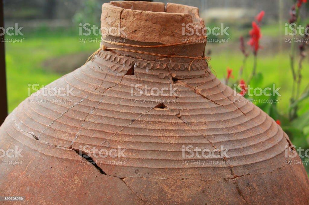 vases en argile antique pour le vin - Photo
