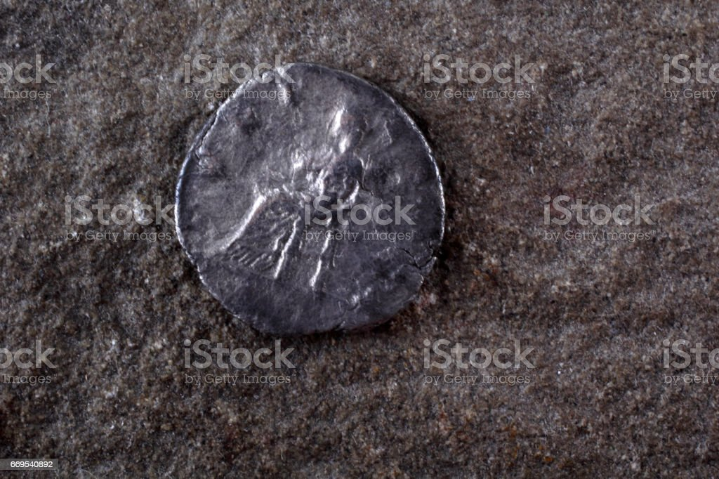 Ancient Coin Roman Empire Stock Photo - Download Image Now