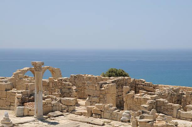Ancient Curium, Cyprus stock photo