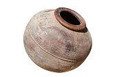 Ancient Cypriot Greek Roman terracotta clay wine pot