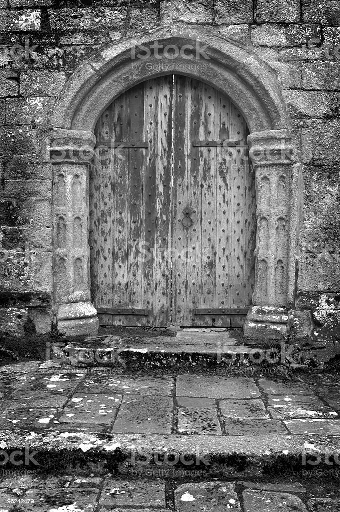 Ancient Doorway royalty-free stock photo