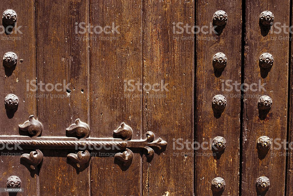 ancient dorr detail royalty-free stock photo