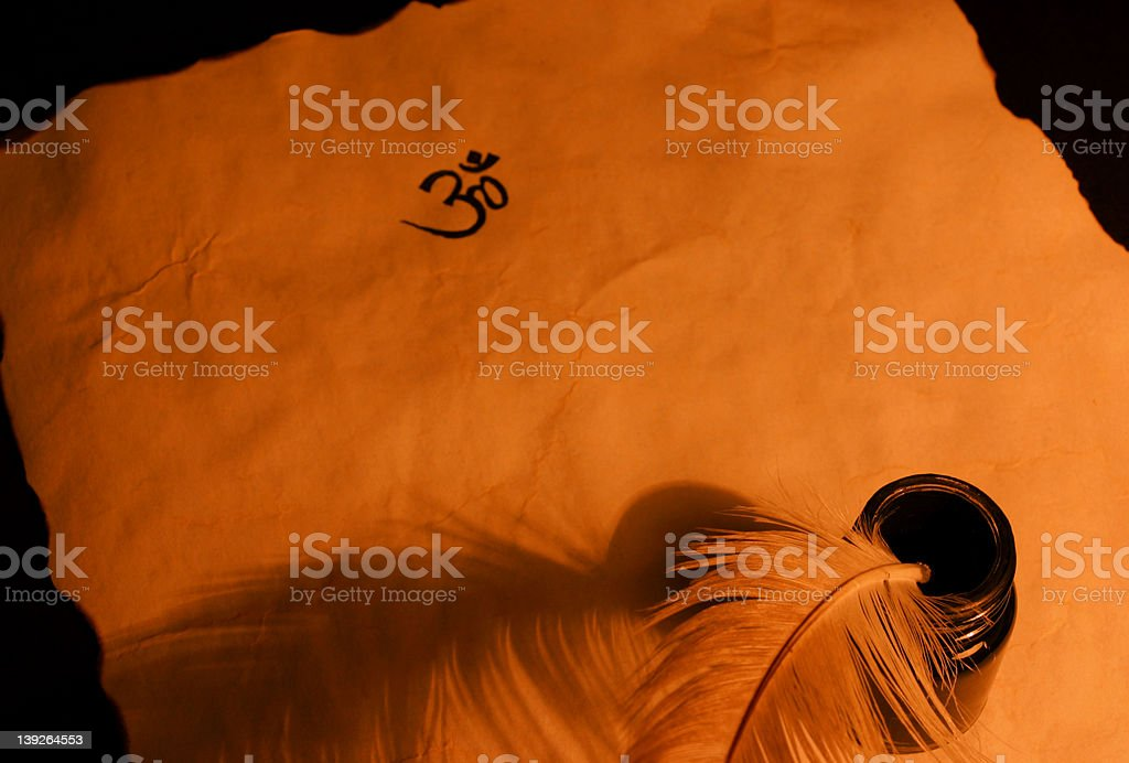 Ancient Education stock photo