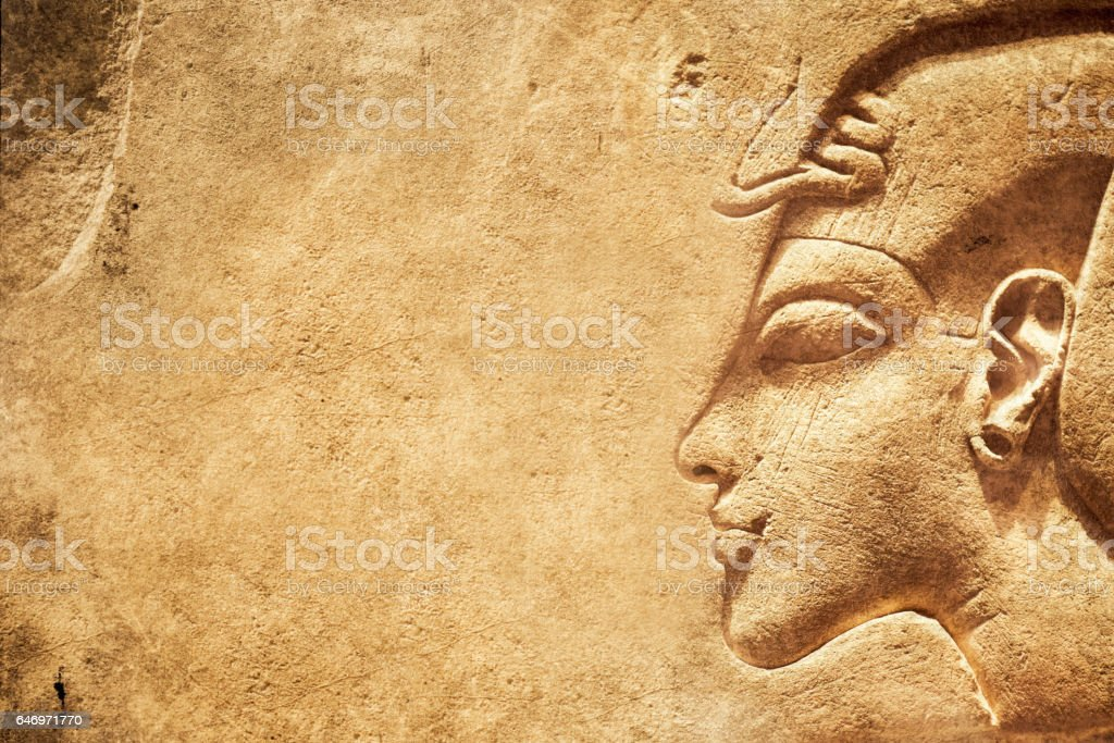 Ancient Egypt background stock photo