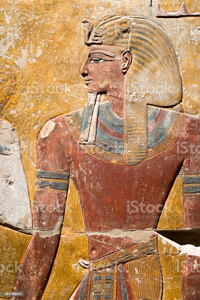 ancient Egyptian art stock photo