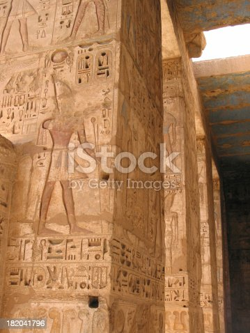 istock Ancient Egyptian High Relief Art 182041796