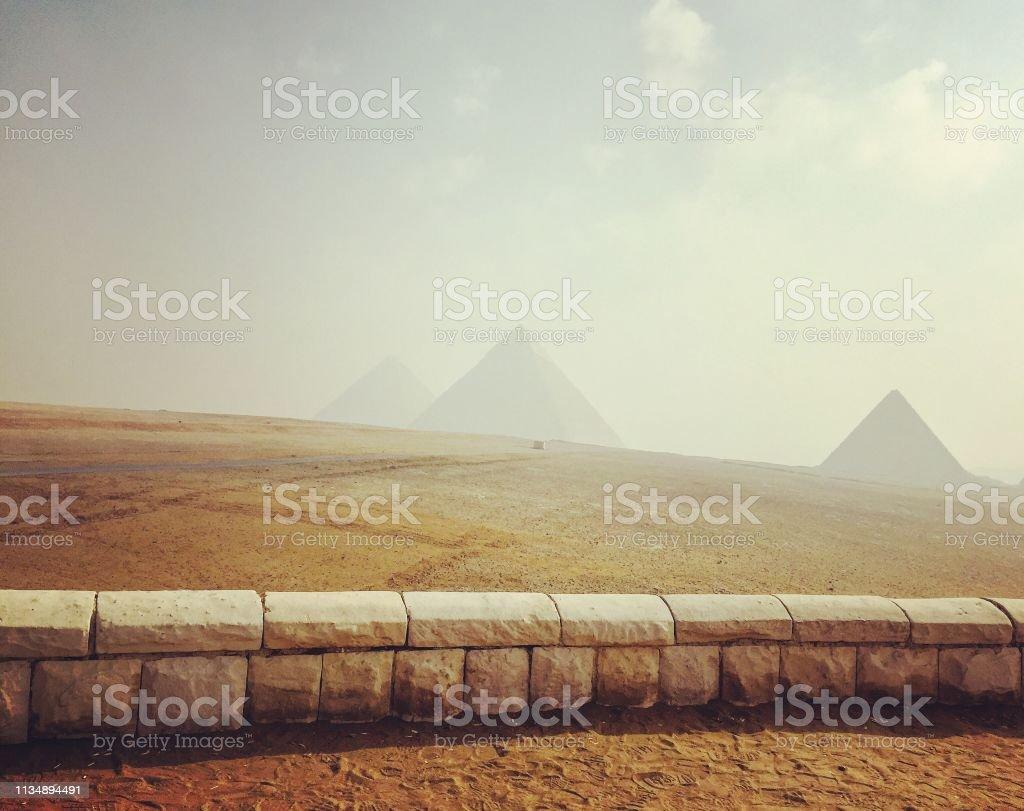 Alte ägyptische Pyramiden – Foto