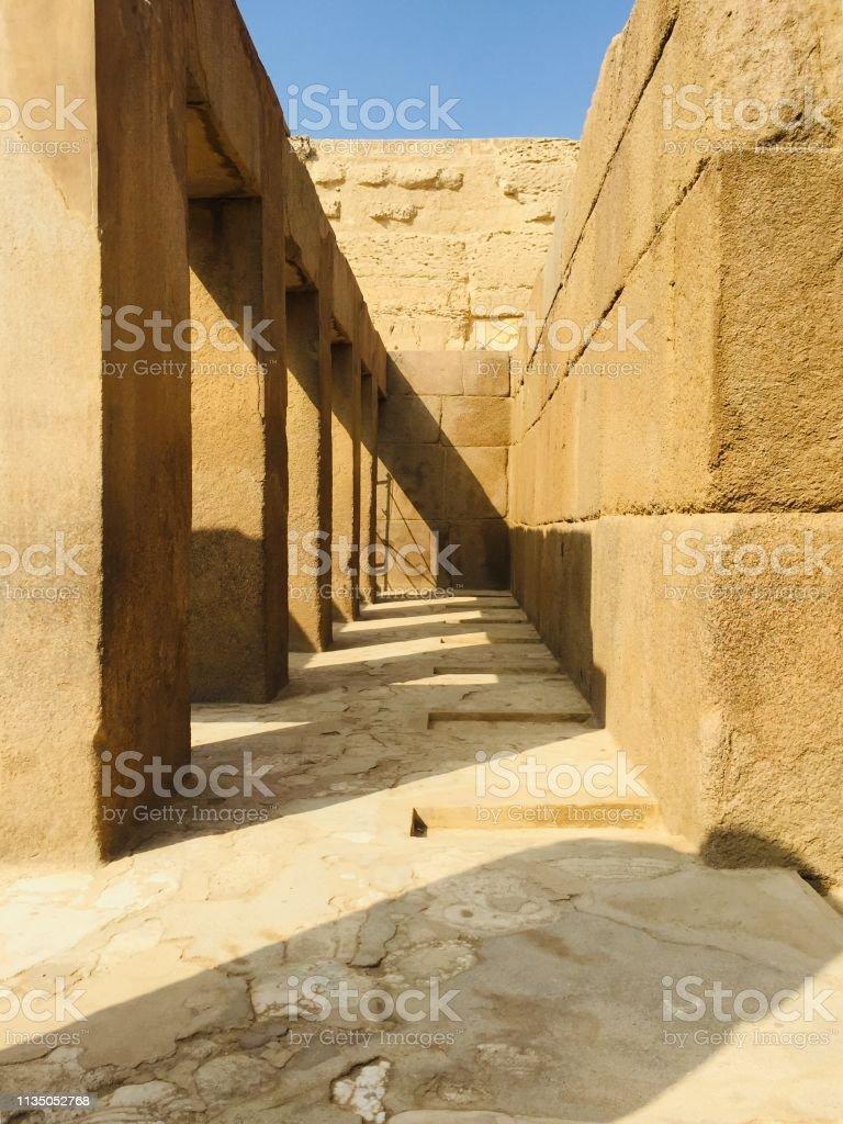 Alte ägyptische Ruinen – Foto