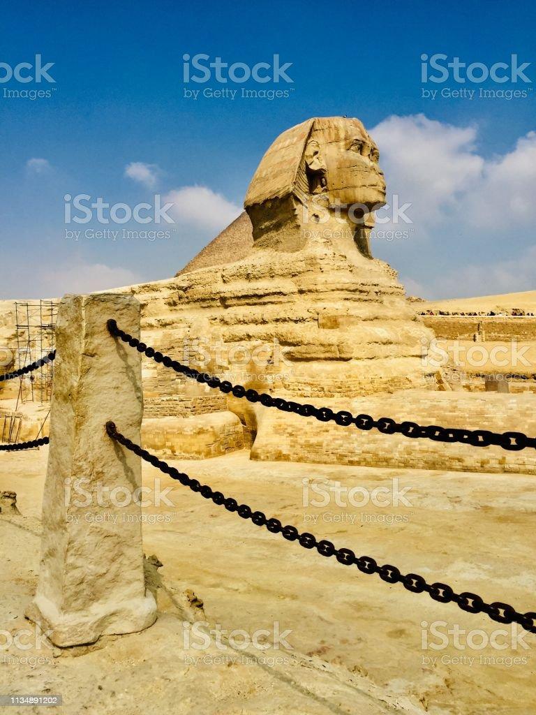 Alte ägyptische Sphinx – Foto
