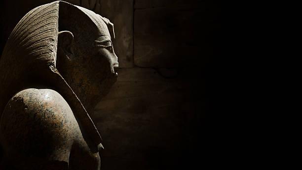 ancient egyptian statue - egyptisk kultur bildbanksfoton och bilder