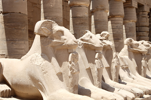 Ancient Egyptian statues