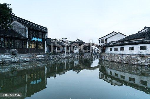 China - East Asia, Shanghai, Suzhou, Wuzhen, Alley