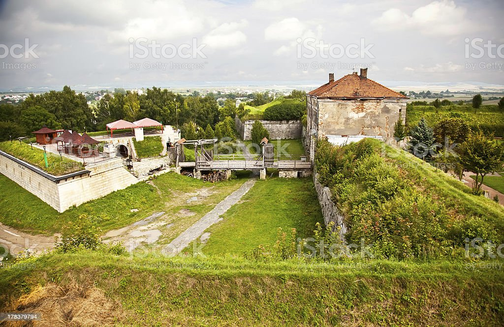 Ancient fortification royalty-free stock photo