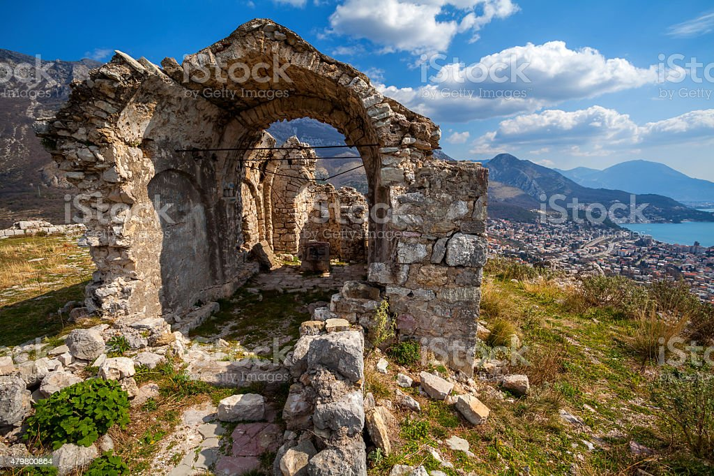 Antigua fortaleza - foto de stock