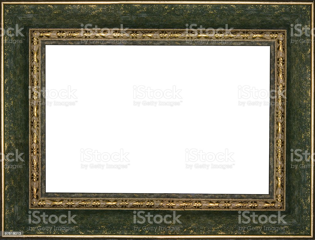 Ancient frame royaltyfri bildbanksbilder