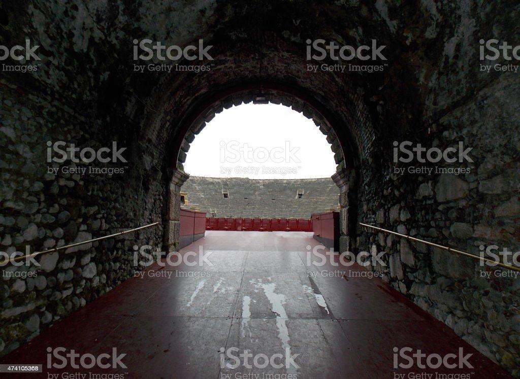 Alte Tor in der Arena di Verona in Italien – Foto