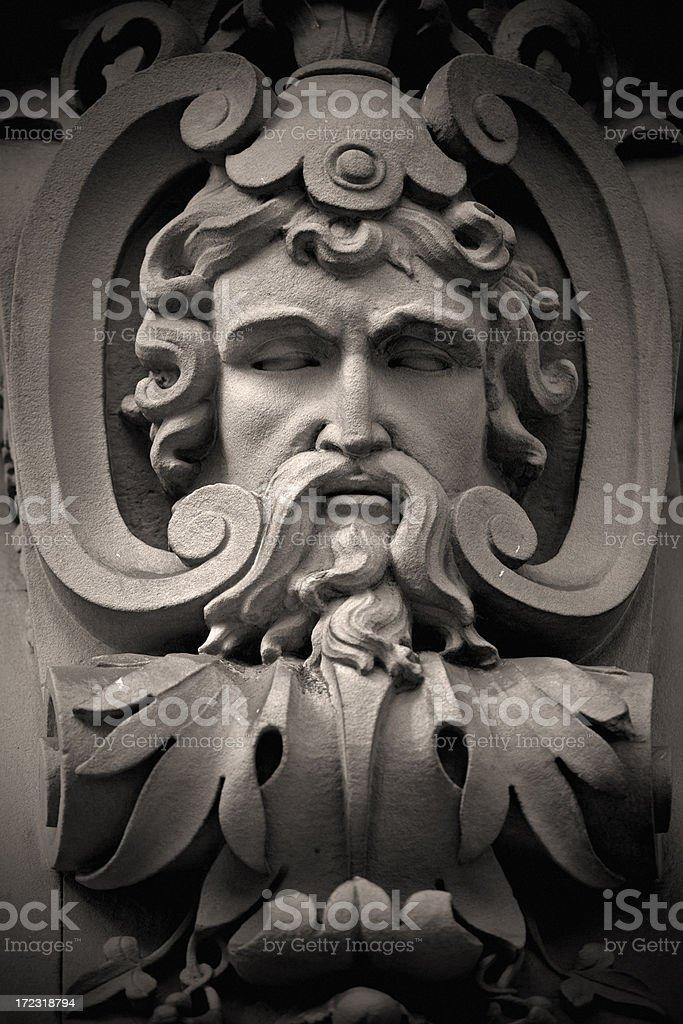 Ancient God royalty-free stock photo