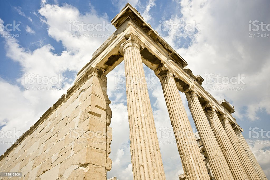 Ancient Greek Architecture royalty-free stock photo