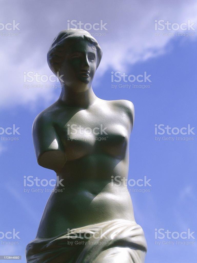 Ancient Greek Goddess Of Love royalty-free stock photo