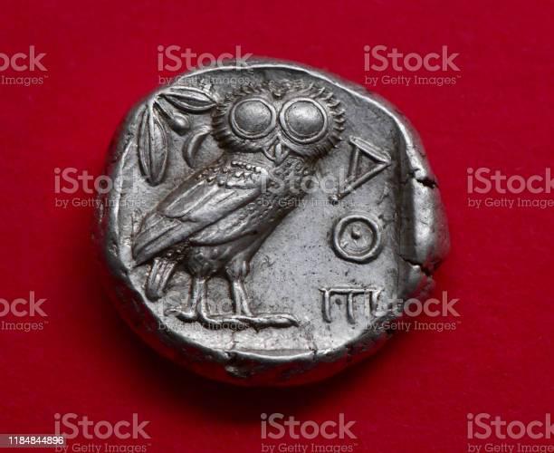 Ancient greek owl coin picture id1184844896?b=1&k=6&m=1184844896&s=612x612&h=6cdmxm 5upfwj7vfowclyi3w655ytiydxuhqwe mjpm=