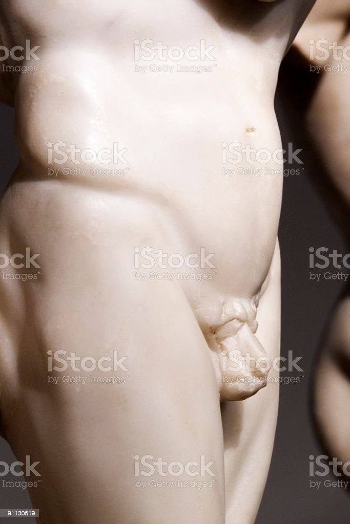 Ancient Greek sculpture royalty-free stock photo